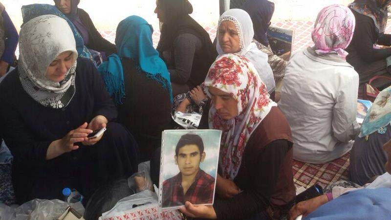 SUPPORT CAMPAIGN FOR THE SIT-IN LAUNCHED IN DIYARBAKIR IN MAY 2014 BY MOTHERS WHOSE CHILDREN HAVE BEEN ABDUCTED