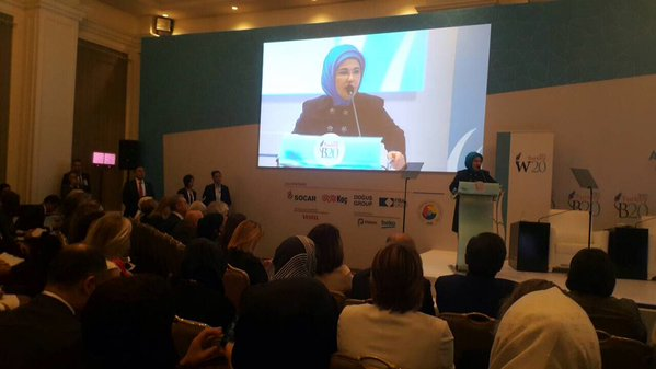 'REFUGEE WOMEN PANEL' LAUNCHED IN G20 SUMMIT AT B20&W20 JOINT SESSION