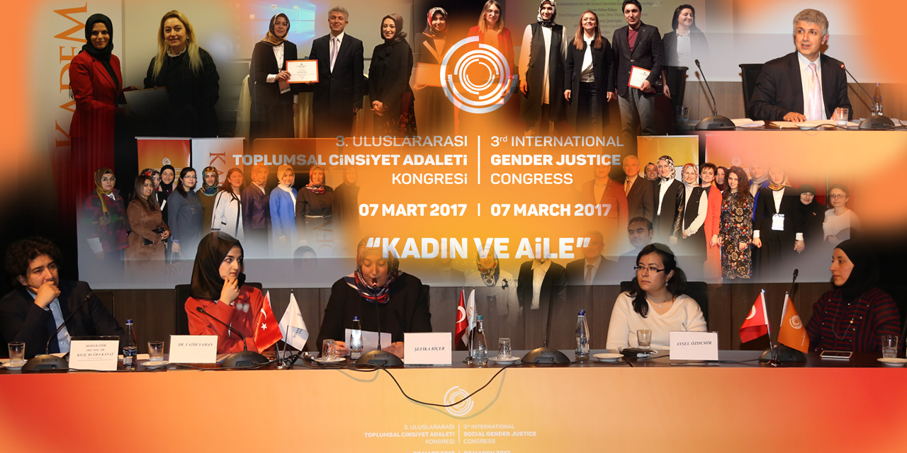 "3rd International Gender Justice Congress With The Theme of ""Women and Family"""