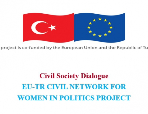 "WORKSHOP ON ""EU-TR CVIL NETWORK FOR WOMEN IN POLITICS PROJECT: WOMAN AND POLITICS"""
