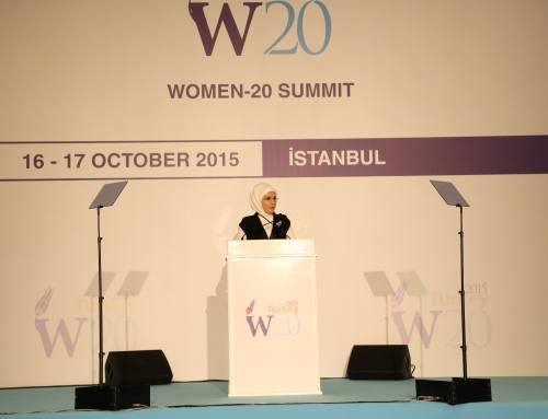 W20 GALA DINNER HAS BEEN ORGANIZED BY KADEM UNDER THE AUSPICES OF EMİNE ERDOĞAN