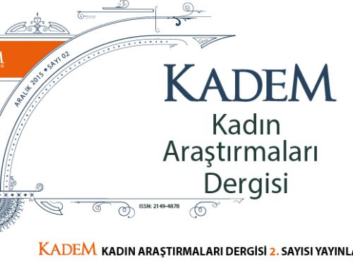 KADEM PUBLISHES SECOND ISSUE OF WOMEN'S STUDIES JOURNAL