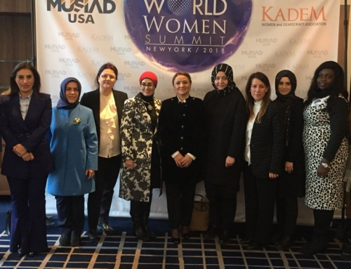 "KADEM Organized ""World Women's Summit"" In Collaboration With MUSIAD USA"